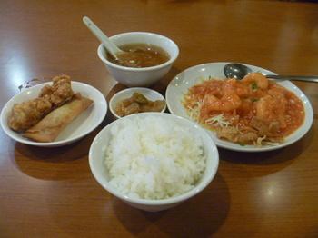 エビチリ定食.JPG